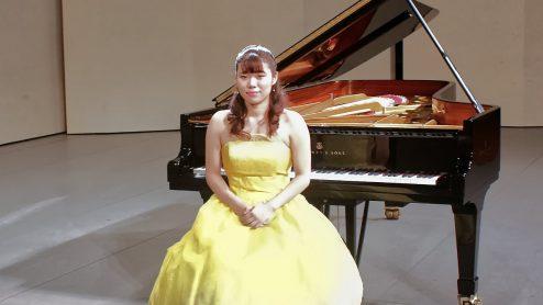 【ピアノのゆふべ】小宮山  愛
