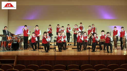 上田染谷丘高等学校 吹奏楽班